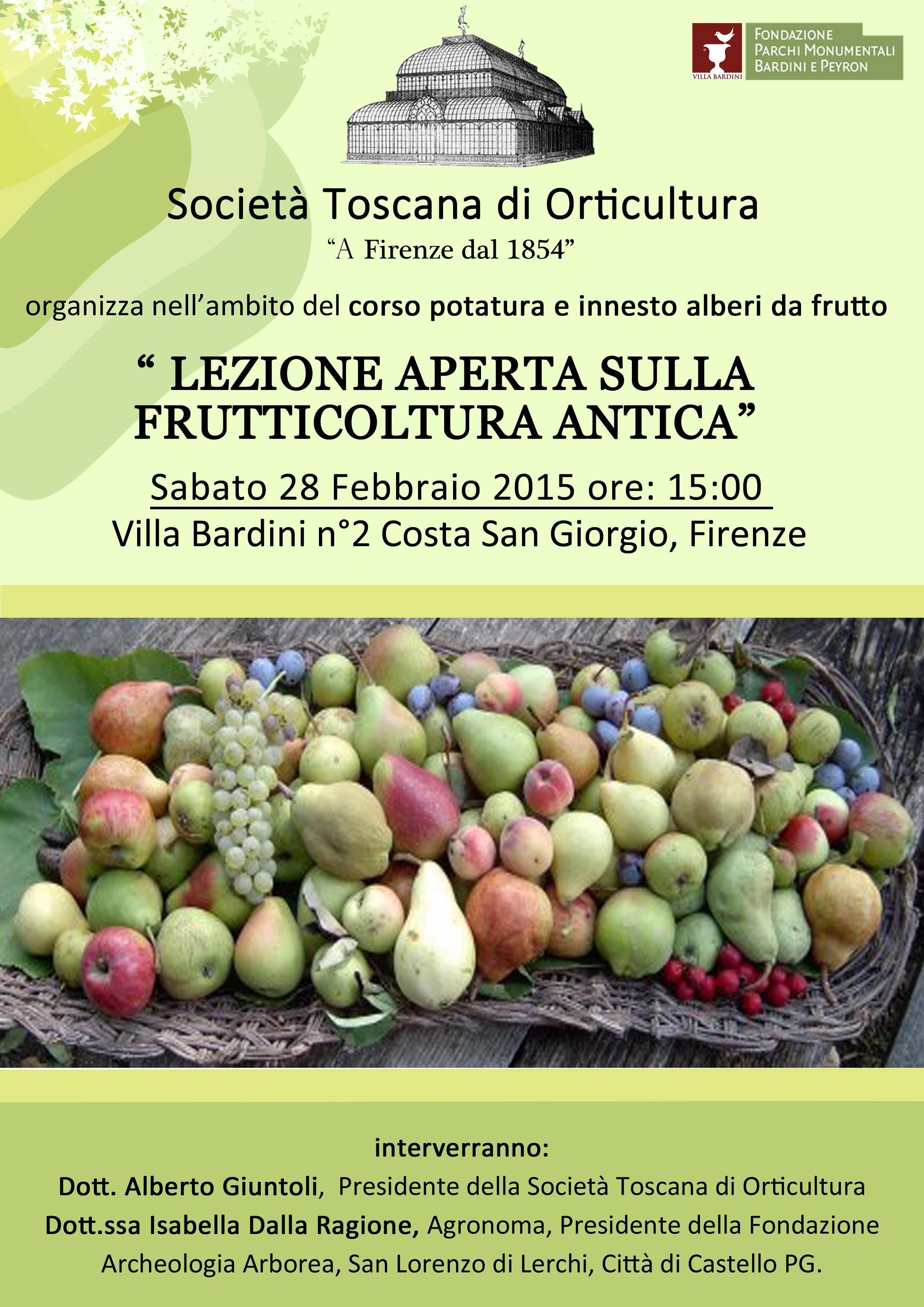 Societ toscana di orticultura - Calendario trattamenti piante da frutto ...