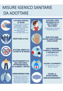 misure igenico sanitarie da adottare